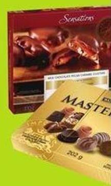 Waterbridge Swiss & Belgian Masterpiece 202 g Sensations By Compliments Pecan Clusters 330 g