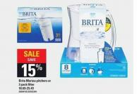 Brita Marina Pitchers Or 3 Pack Filter