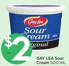 Gay Lea Sour Cream