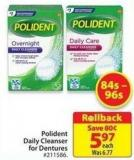 Polident Daily Cleanser For Dentures