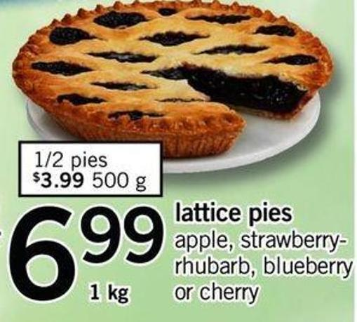 Lattice Pies - 1 Kg