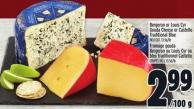Bergeron Or Louis Cyr Gouda Cheese Or Castello Traditional Blue