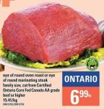 Eye Of Round Oven Roast Or Eye Of Round Marinating Steak