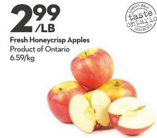 Fresh Honeycrisp Apples