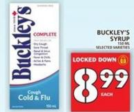Buckley's Syrup 150 Ml