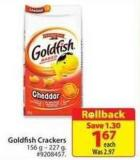 Goldfish Cracker