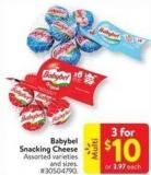 Babybel Snacking Cheese