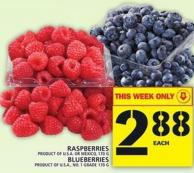 Raspberries Or Blueberries