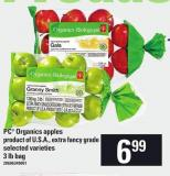 PC Organics Apples - 3 Lb Bag