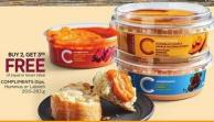 Compliments Dips - Hummus or Labneh 200-283 g