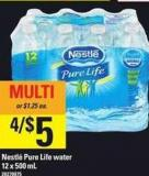 Nestlé Pure Life Water