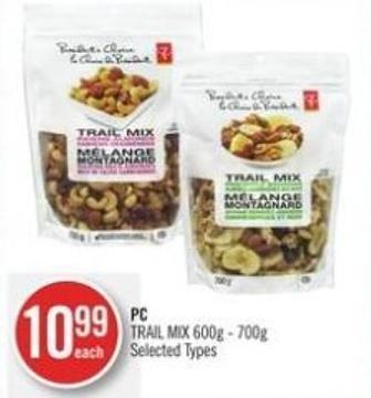 PC Trail Mix 600g - 700g