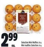 Selection Mini Muffins 276 g