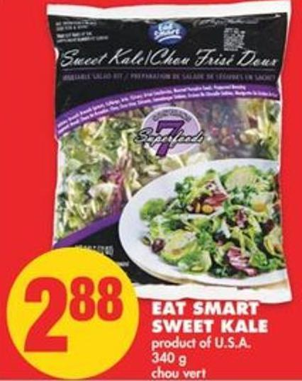 Eat Smart Sweet Kale - 340 g