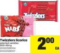 Twizzlers Licorice - 300-454 g