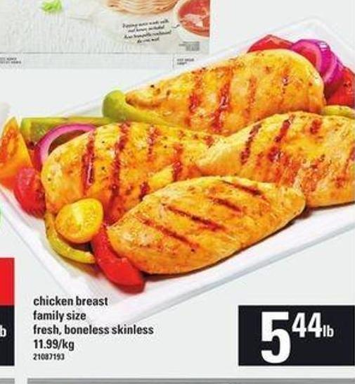Chicken Breast Family Size