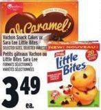 Vachon Snack Cakes Or Sara Lee Little Bites