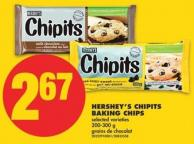 Hershey's Chipits Baking Chips - 200-300 g