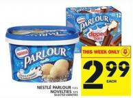Nestlé Parlour Or Nestlé Novelties