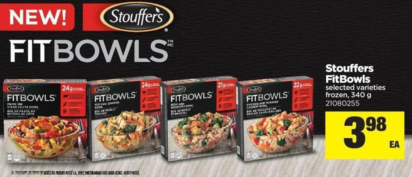 Stouffers Fitbowls - 340 g