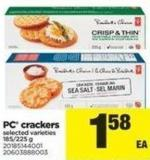PC Crackers - 185-225 g
