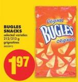 Bugles Snacks - 212/213 g