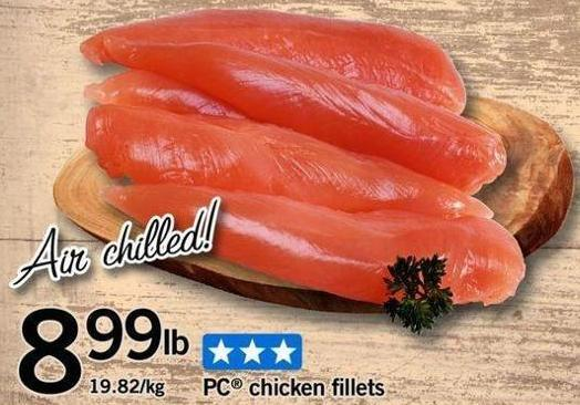 PC Chicken Fillets