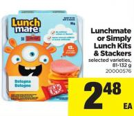 Lunchmate Or Simply Lunch Kits Stackers - 81-132 g