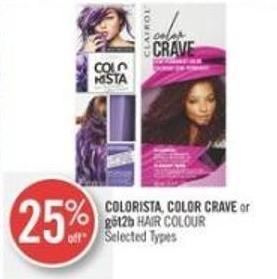 Colorista - Color Crave or Göt2b  Hair Colour