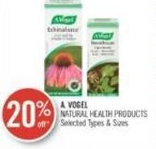 A. Vogel Natural Health Products