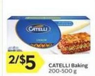 Catelli Baking