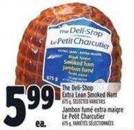 The Deli-shop Extra Lean Smoked Ham 675 g