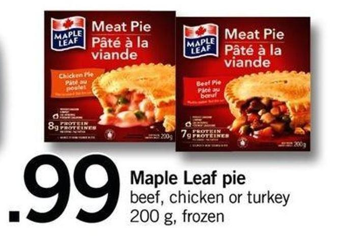 Maple Leaf Pie - 200 G