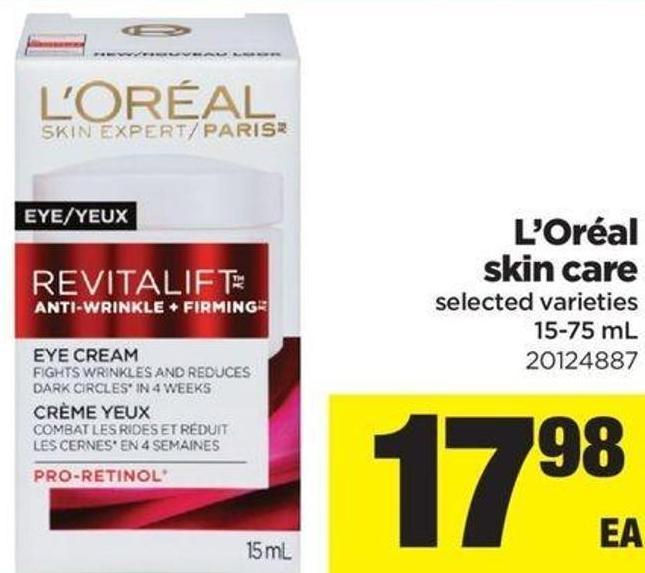 L'oréal Skin Care - 15-75 mL