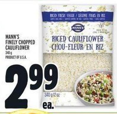 Mann's Finely Chopped Cauliflower