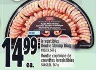Irresistibles Double Shrimp Ring Frozen