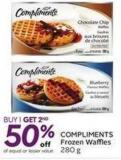 Compliments Frozen Waffles 280 g