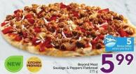 Beyond Meat Sausage & Peppers Flatbread 275 g - 5 Air Miles Bonus Miles