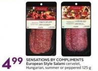 Sensations By Compliments European Style Salami