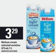 Neilson Cream - 473 Ml/1 L