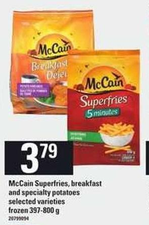 Mccain Superfries - Breakfast And Specialty Potatoes - 397-800 g