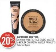 Maybelline New York City Mini Palette - Face Studio Master or Revlon Colorstay Makeup Products