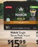 Nabob Single Serve PODS - 30 Pack