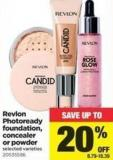 Revlon Photoready Foundation - Concealer Or Powder