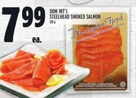 Dom Int'l Steelhead Smoked Salmon