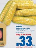 Sweet Bicolour Corn