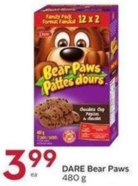 Dare Bear Paws 480 g