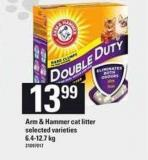 Arm & Hammer Cat Litter - 6.4-12.7 Kg
