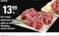 PC Fresh Lamb Loin Chops Plain Or Marinated
