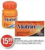 Mortin Ibuprofen 200mg Easy Open Tablets (150s) Or 400mg Liquid Gels (60s)
